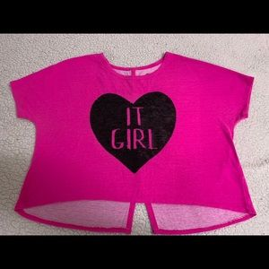 Total girl crop top